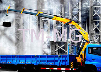 Cina Durable XCMG Folding Boom Truck Mounted Crane 10T For City Construction pemasok