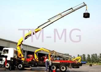 Cina Durable Safety 14 Ton Lifting Articulated Boom Crane , CE Certification pemasok