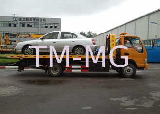 Cina Durable Boom / Lifting Separated Wrecker Tow Truck 40KN For Highway Emergency pemasok