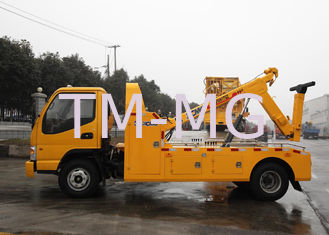 Cina Durable Hydraulic 6000kg Wrecker Tow Truck , Highway / City Road Occasion Breakdown Recovery Truck pemasok