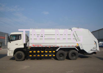 Cina Hydraulic System Special Purpose Vehicles Rear Loader Garbage Truck With Self Dumping pemasok