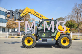 Cina Yellow Small Telescopic Forklift Versatile Lifting Handling Equipment High Efficiency pemasok