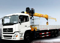 Cina Hydraulic Telescopic Truck With Crane 16.5 Meters Lifting Height perusahaan