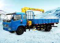 Cina Durable Wire Rope Telescoping Truck Mounted Crane 1105kg With 30L Oil Tank pabrik
