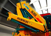 Cina Durable Hydraulic Knuckle Boom Truck Mounted Crane With 13m Max Reach pabrik
