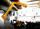 Cina Durable Lifting Knuckle Boom Truck Mounted Crane With 7.5m Max Lifting Height perusahaan