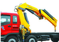 Cina Durable Safety 14 Ton Lifting Articulated Boom Crane , CE Certification pabrik