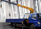 Cina Durable XCMG 4T Telescopic Truck Loader Crane With 10 Meters Lifting pabrik