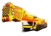 Cina XCMG 650ton All Terrain truck mounted cranes equipment QY650 , low noise pabrik