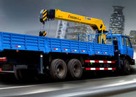 Cina XCMG superior 12 Ton Boom Truck Loader Crane 14.5m Lifting Height pabrik