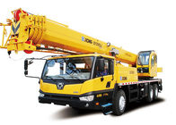 Cina Load Sensing Mobile Truck Mounted Lift With Retractable Boom , 25 Ton pabrik