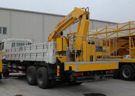 Cina Durable 5T Wire Rope Raise Articulated Boom Crane , 25 L/min Oil Flow perusahaan