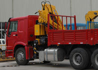 Cina Durable XCMG Knuckle Boom Truck Mounted Crane 6300kg Safety For Mining Industry pabrik