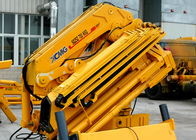 Cina Durable 25 Ton Articulated Boom Crane , Transportation Truck Loader Crane pabrik