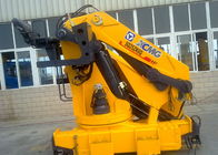 kualitas baik Boom Truck Crane & Durable 25 Tons Commercial Knuckle Boom Truck Mounted Crane, 19m Lifting Height Dijual