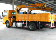 Cina Durable 8 Ton Transportation Telescopic Boom Truck Mounted Crane, Wire Rope pabrik