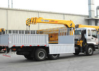 Cina Durable Cargo Mobile Truck Loader Crane With 55 L/min Max Oil Flow pabrik