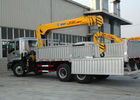 Cina Durable 10T Hydraulic Boom Truck Crane For Lifting And Transporting pabrik