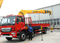 Cina Hydraulic 12 ton Cargo Lorry-Mounted Crane With Telescopic Boom pabrik