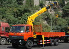 Cina Durable 12 Ton Truck Loader Crane CE Certification For Transportion pabrik