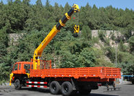 Cina 12T Telescopic Boom Truck Mounted Crane For Telecommunication Facilities, 30 T.M pabrik