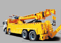 Cina Durable 200KN Emergency Rescue Wrecker Tow Truck , 15 Ton Breakdown Recovery Truck pabrik
