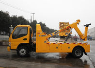 Cina Durable Hydraulic 6000kg Wrecker Tow Truck , Highway / City Road Occasion Breakdown Recovery Truck pabrik