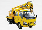 Cina Durable Rotary Platform Truck Mounted Lift For Construction Needs pabrik