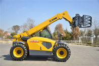 Cina Confortable XC6-3007 Telescopic Telehandler Forklift forklength 1200mm dengan mesin Deutz pabrik