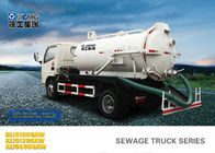 Cina 6.5L Special Purpose Vehicles , Septic Pump Truck For Noncorrosive Mucus Liquid Without Alkalis pabrik