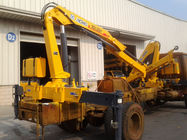 Cina 3200kg 6.72 TM Lifting heavy duty crane / hydraulic boom crane Commercial pabrik