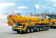 Cina Durable Single-Cylinder Hydraulic Mobile Crane , 7-Axle All Terrian Crane QAY400 pabrik
