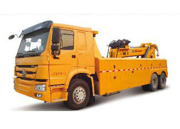 Durable Higher Efficiency Wrecker Tow Truck , Breakdown Recovery Truck For Treating Vehicle Accidents