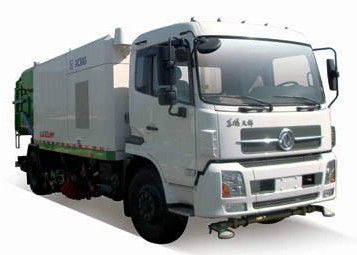 8T Multifunction Road Sweeper Vehicle Special Purpose Vehicles XZJ5160TXS