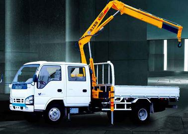 Durable Commercial Knuckle Boom Truck Mounted Crane , 3200kg 6.72 T.M Lifting