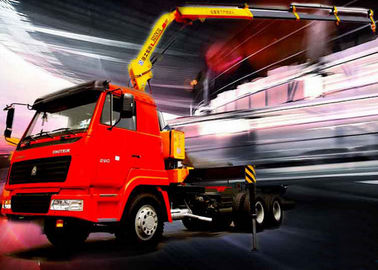 High Quality Konstruksi Knuckle Boom Truck Mounted Crane, 5T Truck Loader crane