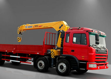 Safety Telescopic Boom Truck Mounted Crane For Telecommunications facilities