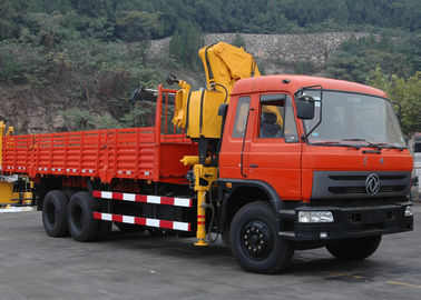 Durable XCMG 10 ton Knuckle Boom Truck Mounted Crane For Lifting Heavy Things