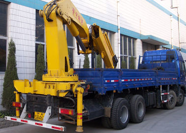 Durable 16 Ton Transporting Articulated Boom Crane , Hydraulic System