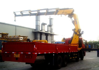 Durable 25 Ton Articulated Boom Crane , Transportation Truck Loader Crane