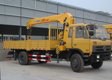 Durable Cargo Mobile Truck Loader Crane With 55 L/min Max Oil Flow
