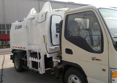 Hydraulic System Special Purpose Vehicles Side Loader Garbage Truck