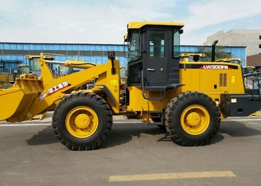High strength LW300FN Wheel Loader 3T, Earthmoving Machinery