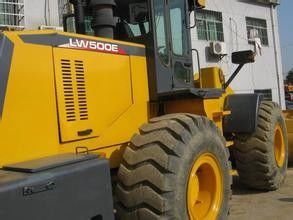 5000KG LW500E Earthmoving Machinery Wheel Loader With double pump interflow