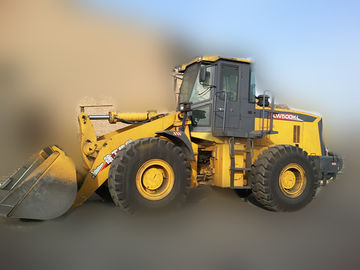 4 Wheel Drives LW500KL Wheel Loader Earthmoving Machinery Safe Driving Space