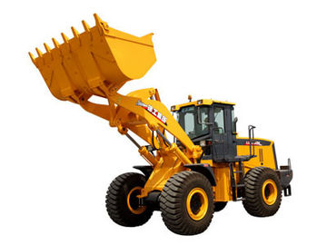 3.5m³ XCMG Wheel Loader LW600KN Heavy Equipment Road Construction Machinery With Guide Control
