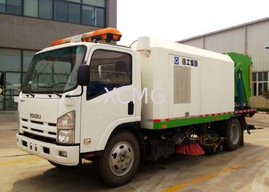Tunnel And Bridge Washing Road Sweeper Truck 8tons With Washer