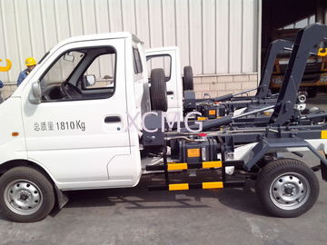 Hook Lift Garbage Truck 1Ton Special Purpose Vehicles For Refuse Collection XZJ5020ZXXA4